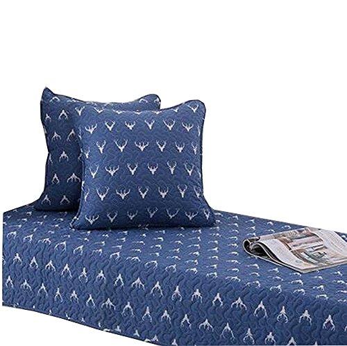 Modern Window Bench Mat Window Seat Pads Sofa Covers Blue Elk