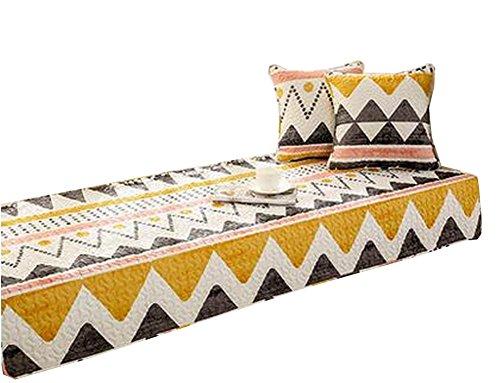Modern Window Bench Mat Window Seat Pads Sofa Covers Orange