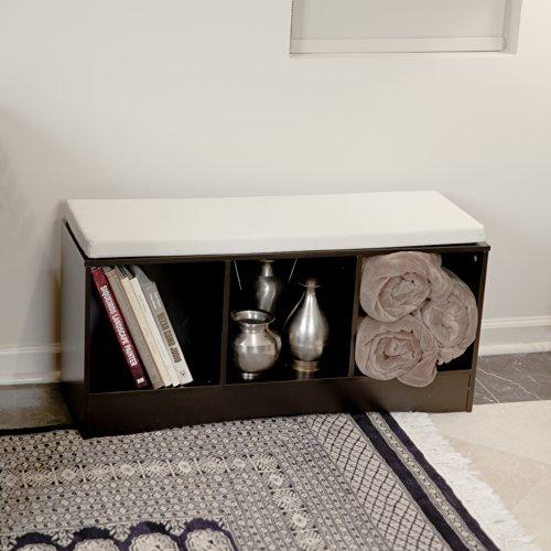 Danya B Storage Bench with Canvas Cushion