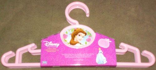Set of 4 Pink Disney Princess Childrens Clothes Hangers
