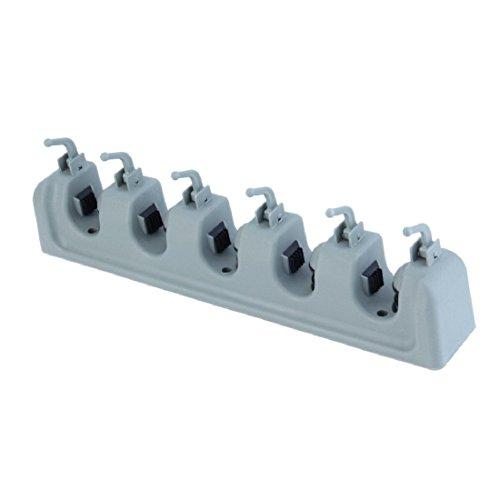 Popular Kitchen Wall Mounted Hanger Storage Rack 3-5 Position Kitchen Mop Brush Broom Organizer Holder Tool