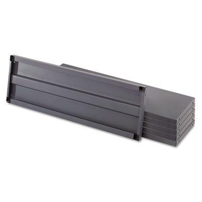Heavy-Duty Industrial Steel Shelving Six-Shelf 48w x 24d Dark Gray Sold as 1 Each