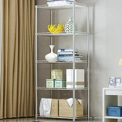 Huayao 22X 137X63 Home Storage Rack 5 Level Adjustable Shelves Garage Steel Metal Shelf Unit