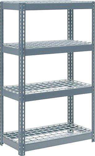 Rivet Lock Extra Heavy Duty Shelving Unit Gray