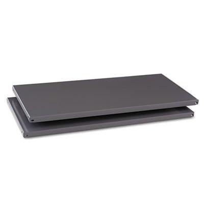 Commercial Steel Shelving Extra Shelves 36w x 18d Medium Gray 2Box Sold as 1 Box 2 Each per Box