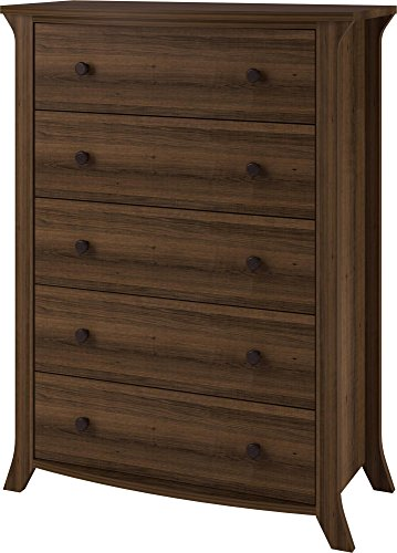 Altra Oakridge 5 Drawer Dresser Homestead Oak