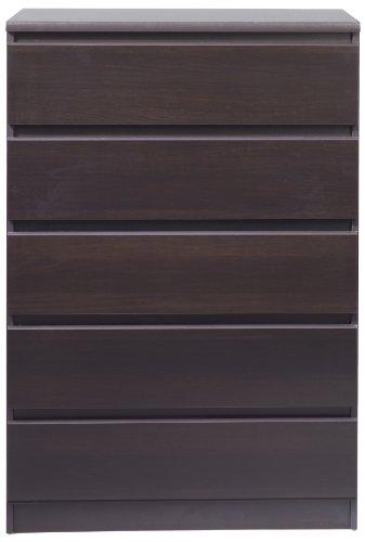 Tvilum Scottsdale 5-Drawer Dresser Coffee
