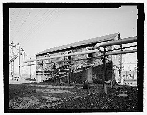 Photo New Haven Rail YardOil Storage BuildingNew HavenConnecticutCTHABS1