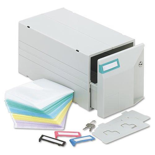 Innovera CDDVD Storage Drawer Holds 150 Disks 39501