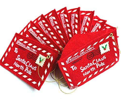 AscentanTM 50pcslot Christmas Tree Envelopes Candy Gift Bag Decorations Ornament Home Da Decoracao De Natal Adornos Navidad