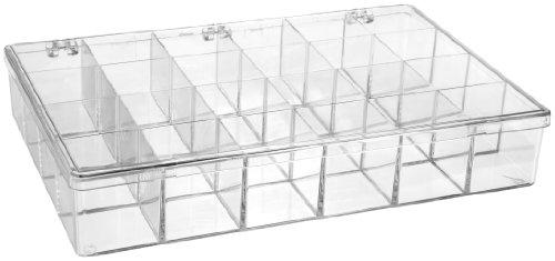 Bel-Art F16614-0000 Plastic 24 Compartment Storage Box 13⅛ x 9 x 2⁵₁₆ in