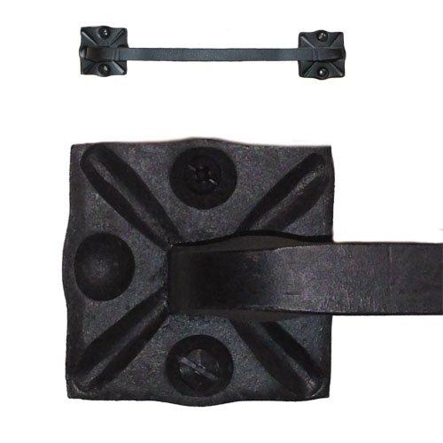 Adobe Wrought Iron Towel Bar Rack Holder 12