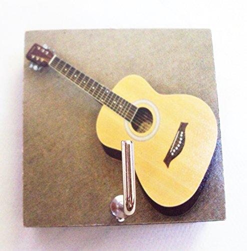 Agility Bathroom Wall Hanger Hat Bag Key Adhesive Wood Hook Vintage Guitars Photo