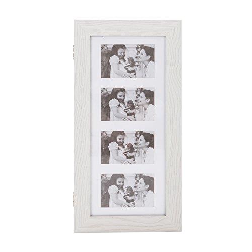 Bonnlo Jewelry Armoire with Photo Frame 2362 x 1181 x 355 inch Key Storage Cabinet Wall Mount