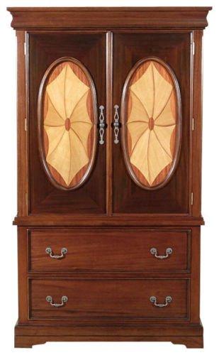 SALE Art Deco Inlaid Wardrobe Armoire Closet MC118-F-520-30