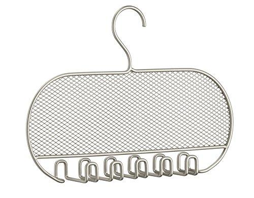 InterDesign Classico Jewelry Necklaces Bracelets Earrings Closet Organizer Hanger Satin