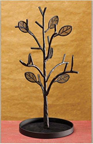 DEMDACO Metal Jewelry Holder Tree Organizer Stand