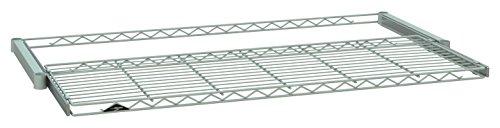 Intermetro Industries White Sliding Shelf use with InterMetro 18x48 Shelving 4 Piece