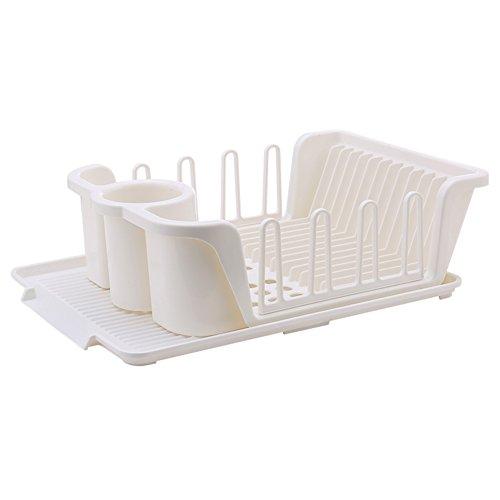 cupboard kitchen drainPlastic tableware cutlery storage box-D