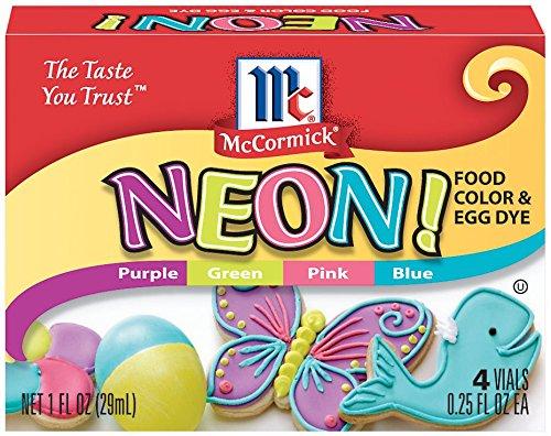 McCormick Neon Food Color Kit - 12 Pack