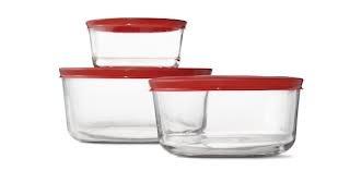 Anchor Hocking 6 Piece Glass Food Storage Set