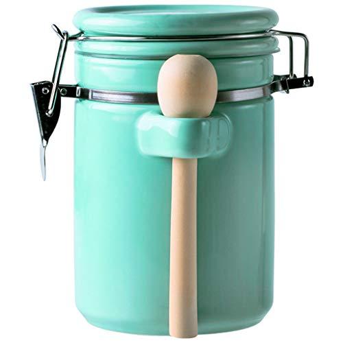 Ceramic Sealed Jars Moisture-Proof Kitchen Food Containers Storage Of Coffee BeansCerealOatmealMilk Powder