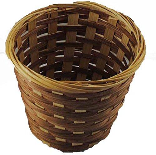 "Topot 240pcs Bamboo Storage Basket 55x4、7x6""、975x825 Wholesale Lot"