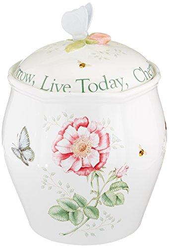 Lenox Butterfly Meadow Sentiment 95 Cookie Jar