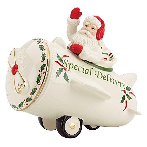 Lenox Countdown to Christmas Cookie Jar Ivory