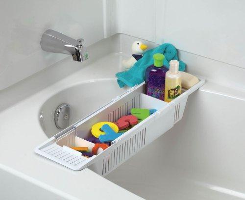 KidCo Bath Toy Organizer Storage Basket White - 2 Count