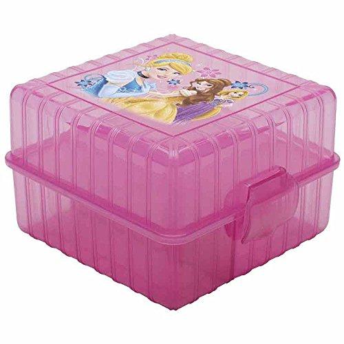 Zak Disney Princess GoPak Plastic Divided Lunch Container