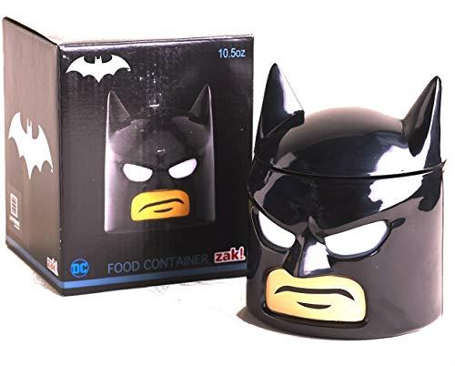 Batman Head Lunch Box Food Container