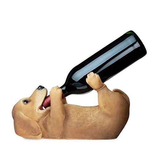 TRUE Dachshund Wine Bottle Holder One Size