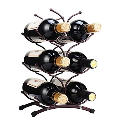 JIUJIA Wrought Iron Wine Rack  46 Bottle Free Standing Wine Shelf  Wine Shelf Cabinet  Wine Display Rack  for Living Room Bar Etc