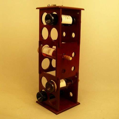 OKSLO Fuji 12 bottle floor wine rack Model 16311-22208-15838-17843