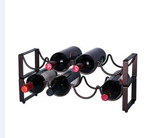 Hangnuo 4 Bottle Wine Rack
