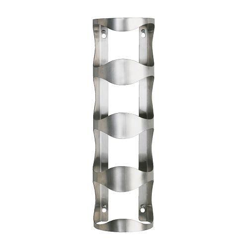 Ikea Stainless Steel 4-bottle Wine Rack 30055760