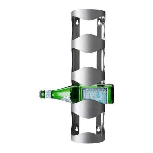 Småland Böna IKEA - VURM 4-bottle Wine Rack Stainless Steel Home Supply Maintenance Store