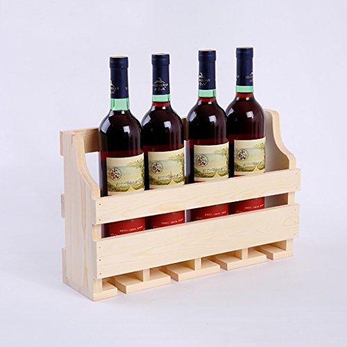 ZCCJJ Wine Bar Contemporary Wine Rack Bottle Wall Mounted Wine Rack Wine Bottle Rack Horizontal Wine Bottle Rack Size  A4011525cm