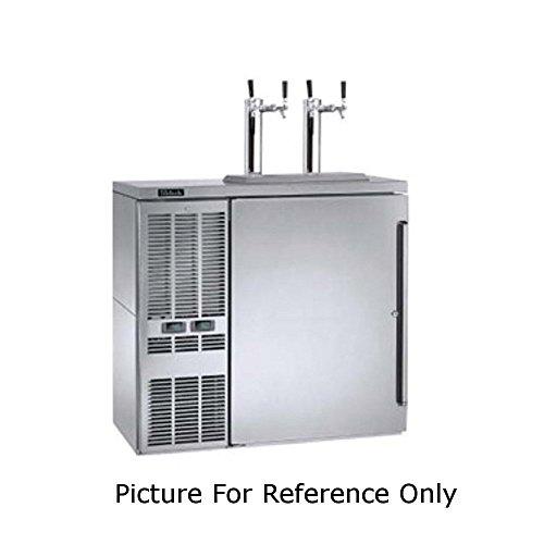 Perlick DZS36 36W Dual Zone Refrigerated Back Bar Storage Cabinet
