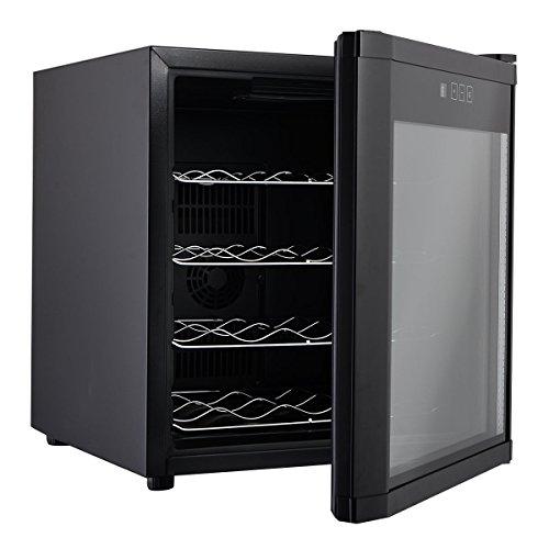 SKB family New 16 Bottles Wine Cooler Fridge Cellar Storage Holder Chiller Bar Rack Cabinet