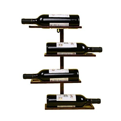 Wall-Mounted Wine Racks Wine Rack Wall Hanging Wine Display Stand Home bar Wine Decoration Shelf Storage Rack bar Display Stand Cross Horizontal Wine Rack Wine Racks
