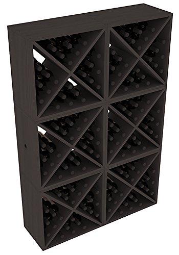 Wine Racks America Ponderosa Pine 144 Bottle Wine Cube 13 Stains to Choose From