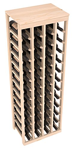 Wine Racks America Ponderosa Pine 48 Bottle Table Top 13 Stains to Choose From