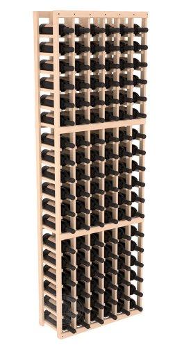 Wine Racks America Ponderosa Pine 6 Column Wine Cellar Kit 13 Stains to Choose From