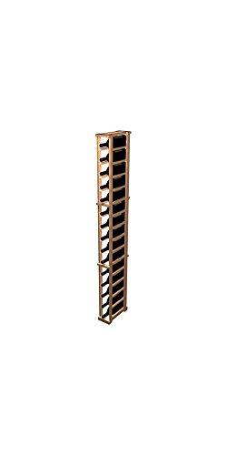 Designer 1-Column Magnum Wine Rack Rustic Pine - Classic Mahogany Stain