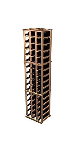 Designer 3-Column Magnum Wine Rack Prime Mahogany - Classic Mahogany Stain