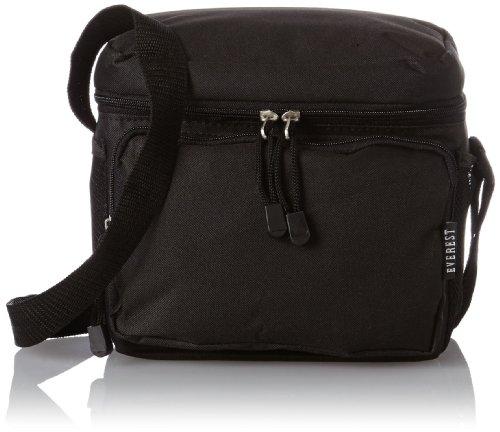 Everest Cooler Lunch Bag Black One Size
