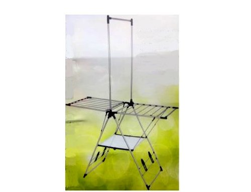 Greenway Indoor Outdoor Drying Rack with Mesh ShelfGFR2019SS