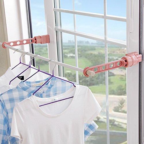 Multifunctional IndoorOutdoor Clothes Drying Rack Random Color